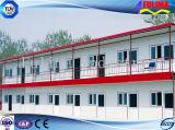 Edificio prefabricado con tapa llana para el sitio de trabajo (FLM-H-005)