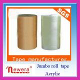 BOPP Selloのパッキング付着力のガム・テープのジャンボロール