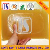 Buena calidad caliente del derretimiento de la jalea papel pegado pegamento