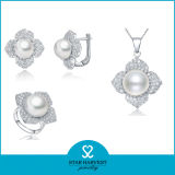 2015卸し売り星の収穫の淡水の925銀製の真珠の宝石類(J-0102)