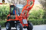 Mini chargeur agricole de roue des machines Wl80 au Danemark