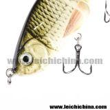 Appui à la pêche dure en plastique multi-articulé de qualité supérieure
