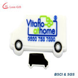 PVC Fridge Car Magnet do costume com Soft Rubber