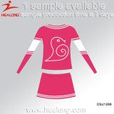 Healong는 Jerseys를 Cheerleading 젊음 Cheerleading 제복의 인쇄를 승화했다