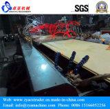 ligne composée en plastique en bois de machine de production de panneau de porte de PVC WPC de 800-1000mm