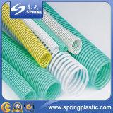 Boyau spiralé de pipe de jardin de l'eau de poudre d'aspiration renforcé par plastique de PVC avec la bonne qualité