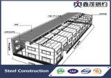 Edificio prefabricado del almacén de la estructura de acero para industrial