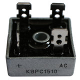 15A, de Diode Kbpc15005, Kbpc1501, Kbpc1502 van de Brug 50-1000V,