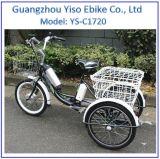 新しいモデルのアルミ合金フレームの電気三輪車