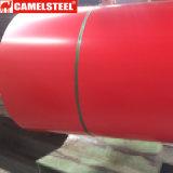 Катушка цвета гальванизированная покрытием стальная