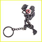 Giocattolo mobile del sesso di Keychain della lega speciale del metallo degli amanti