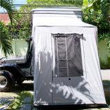 De in het groot het Kamperen Hoogste Tent van het Dak van de Auto van de Glasvezel met Bijlage