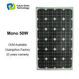 monokristallines Hauptsonnenenergie-Panel der kleinen Energieen-50W
