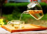 Jarro de vidro elegante da água do projeto 600ml, jarro do suco, jarro de água