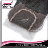 6A 100%年のVirginブラジルのHair Extension Unprocessed Lace Closure Human Hair