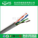 Cable de UTP Cat5e CCA con alto rendimiento del bajo costo