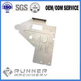 Подгонянный стальной металлический лист точности штемпелюя для части подвергли механической обработке CNC, котор