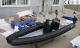 판매 (HFX 580)를 위한 5.8m Hypalon FRP 섬유유리 배 형