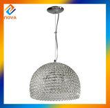 クリスタル・ボールの吊り下げ式のつく/Crystalの円形のペンダント灯