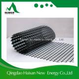 50 kN hecha punto deformación de fibra de vidrio de alta resistencia con geomalla