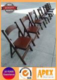 Muebles de madera plegables del acontecimiento del abastecimiento de la silla de la silla de plegamiento de la boda