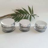 vaso crema acrilico d'argento 10/20/30g per l'imballaggio di Skincare (PPC-NEW-127)
