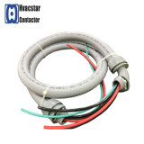 "UL Liquid-Tight Air Conditioner Chicotes elétricos Conduit Whip Water-Tight Kit de chicotes elétricos 1/2 ""X4 ', 10AWG"