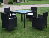 素晴らしい様式の藤表は4脚の椅子とセットした