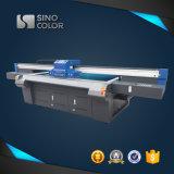 신계열 인쇄 헤드 큰 체재 UV 평상형 트레일러 인쇄 기계