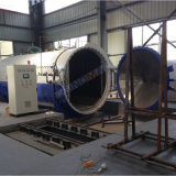 автоклав конвекции нагрева электрическим током 2850X5000mm стеклянный прокатывая (SN-BGF2850)