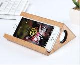 2017最も新しい到着の携帯電話のためのドック端末が付いている携帯用無線木のBluetoothのスピーカー