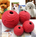 IQ-Behandlung-Kugel-interaktive Nahrungsmittelzugeführtes Hundespielzeug