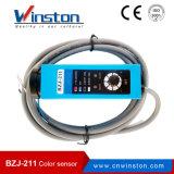 Aplicação do sensor da marca da cor/cor da máquina Bzj-211 do pacote
