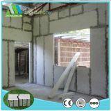 Bonne isolation thermique et panneaux de mur ignifuges de sandwich à la colle de fibre de matériau de construction