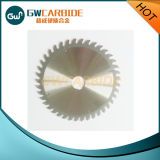 Zementiertes Karbid-Ausschnitt-Platte mit den Zähnen
