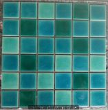 Gemischter blauer Eis-Bruch-keramische Swimmingpool-Mosaik-Fliese