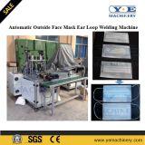 Machine de soudure extérieure automatique de boucle d'oreille de masque protecteur