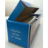 Transparentes PET schützende Ausdehnung haften Film für Ladeplatten-Verpackung an