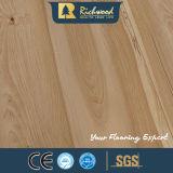 plancher stratifié en stratifié en bois en bois de chêne de perle de 12.3mm E1 HDF AC4