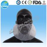 Coperchio nero bianco blu di nylon a gettare della barba di industria alimentare