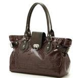 Borse del Crocodile Grain PU Leather della signora (RS-EP0009)
