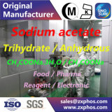 Acetato de sódio de qualidade alimentar CH3coona