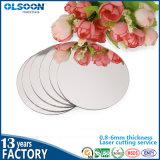 Guangzhou Produzione Olsoon d'oro acrilico specchio Foglio PMMA specchio parete di plastica