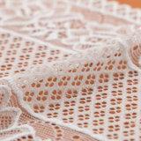 Lacet hydrosoluble beige de Guangzhou de polyester de modèle de mode