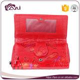 Бумажник способа женщин Fani тавра, кожа бумажников женщин неподдельная