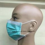 Устранимый лицевой щиток гермошлема Nonwoven 3ply хирургический для медицинской с Earloop