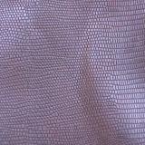 Cuero superior de la PU del cocodrilo del espejo para el zapato del bolso