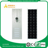 Todos en una luz de calle solar integrada 100W
