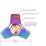Filatore variopinto del metallo di irrequietezza del triangolo del giocattolo Anti-Stress