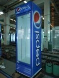 Dispositivo di raffreddamento dritto del portello di vetro con il compressore famoso per la bevanda